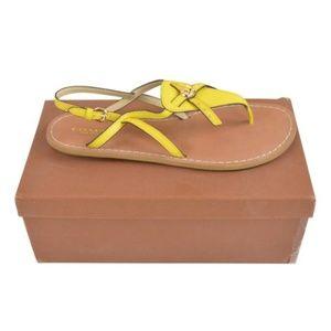 Coach  Camara Leather Sandals